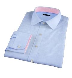 Thomas Mason Blue WR Imperial Twill Tailor Made Shirt