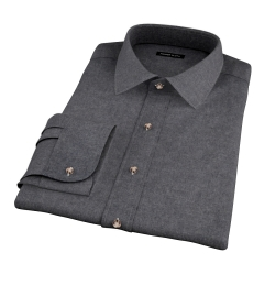 Canclini Cinder Beacon Flannel Dress Shirt