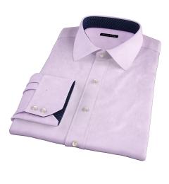 Greenwich Lavender Twill Men's Dress Shirt