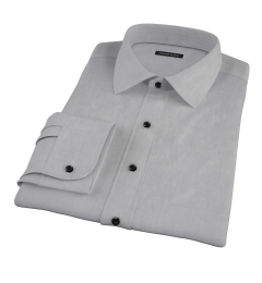 Jones Charcoal Grey End-on-End Dress Shirt