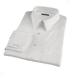 Thomas Mason Luxury Broadcloth Custom Dress Shirt