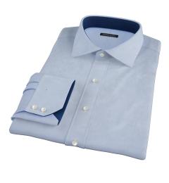 Thomas Mason Goldline Light Blue Royal Oxford Tailor Made Shirt