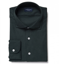 Teton Hunter Green Flannel Men's Dress Shirt