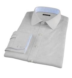 Stanton 120s Grey End-on-End Dress Shirt