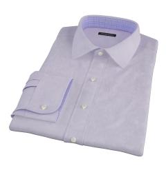 Lilac Heavy Oxford Cloth Custom Made Shirt