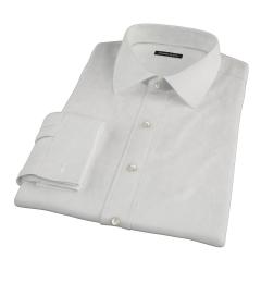 Ivory Fine Twill Custom Dress Shirt