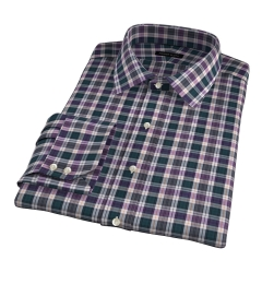 Vincent Pine and Violet Plaid Tailor Made Shirt