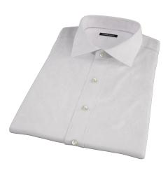 Light Pink Micro Grid Short Sleeve Shirt