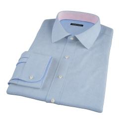 Thomas Mason Goldline Micro Check Dress Shirt