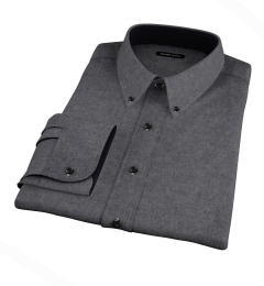 Canclini Cinder Beacon Flannel Dress Shirt