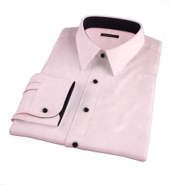 Pink 80s Broadcloth Tailor Made Shirt