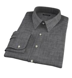 Black Denim Tailor Made Shirt