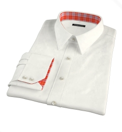Greenwich Ivory Broadcloth Dress Shirt