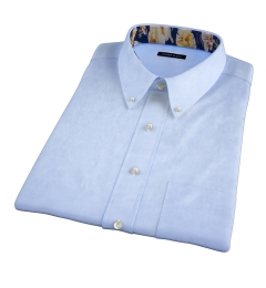 Light Blue Heavy Oxford Short Sleeve Shirt