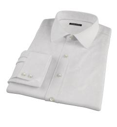 Carmine Pink Fine Stripe Tailor Made Shirt