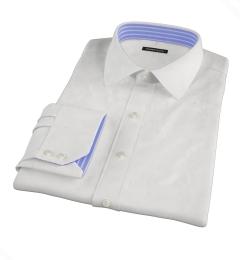 Mercer White Pinpoint Custom Made Shirt