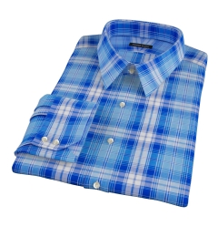 Canclini Appenine Plaid Custom Dress Shirt