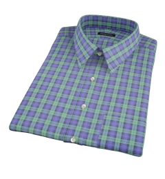 Black Watch Tartan Short Sleeve Shirt