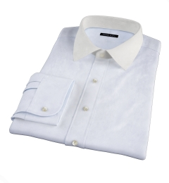 Canclini Light Blue Fine Stripe Tailor Made Shirt