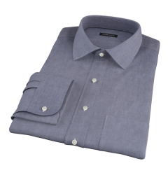 Navy Chambray Custom Made Shirt