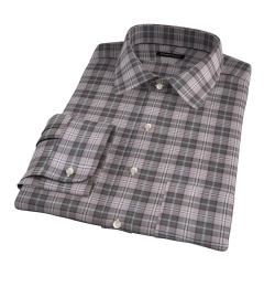 Jackson Olive Tartan Flannel Tailor Made Shirt