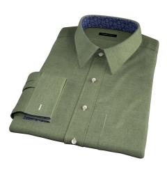Canclini Sage Beacon Flannel Men's Dress Shirt