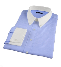 Canclini Lilac Beacon Flannel Custom Made Shirt