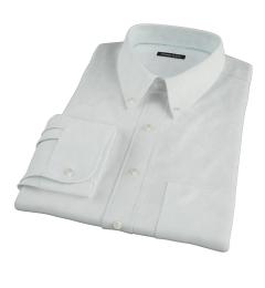 Bowery Mint Green Pinpoint Custom Dress Shirt