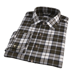 Canclini Pine Plaid Beacon Flannel Custom Made Shirt