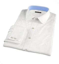 Mercer White Broadcloth Custom Made Shirt