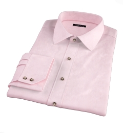 Greenwich Pink Twill Fitted Shirt