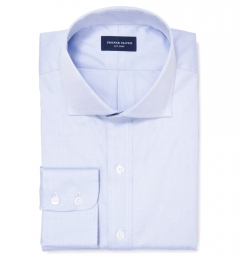 Mercer Blue Pinpoint Tailor Made Shirt