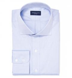 Mercer Blue Pinpoint Tailor Made Shirt