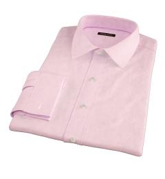 Morris Pink Wrinkle-Resistant Houndstooth Dress Shirt