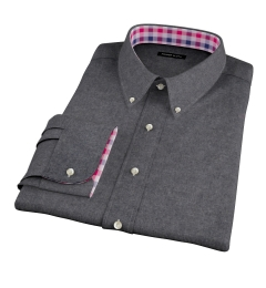 Canclini Cinder Beacon Flannel Fitted Shirt