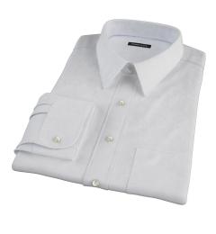 Light Blue Micro Grid Dress Shirt