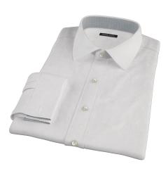 Pink Fine Stripe Custom Made Shirt