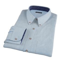 Japanese Washed Denim Tailor Made Shirt