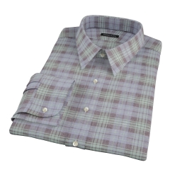 Satoyama Faded Blackwatch Plaid Custom Made Shirt