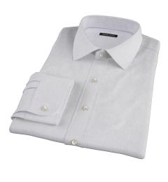 Red Blue Morton Grid Men's Dress Shirt