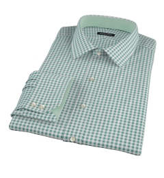 Lorimer Forest Green Check Tailor Made Shirt
