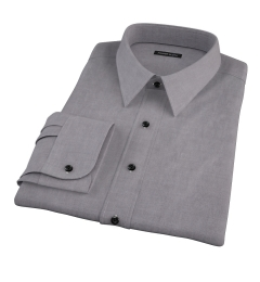 Charcoal Oxford Custom Made Shirt