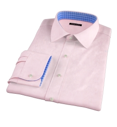 Pink 80s Broadcloth Dress Shirt
