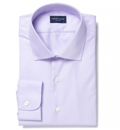 Thomas Mason Lavender Fine Twill Men's Dress Shirt