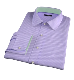 Waverly Lavender Check Fitted Shirt