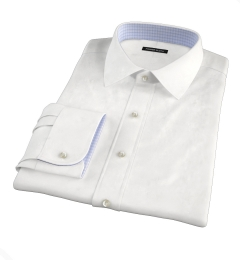 Franklin White Wrinkle-Resistant Twill Tailor Made Shirt