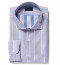 Albini Santa Fe Stripe Fitted Shirt