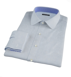 Canclini Light Blue Imperial Twill Men's Dress Shirt