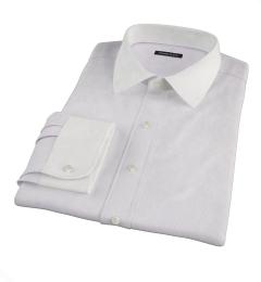 Carmine Purple Fine Stripe Tailor Made Shirt