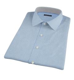 Green and Blue Regis Check Short Sleeve Shirt